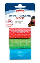 RECORD Decor vrećice za pseći izmet, 27,5 x 30 cm, 3x 20 vrećica