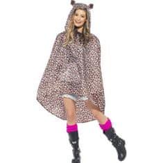 Smiffys Kostum Pončo Leopard