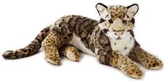 National Geographic Veľké mačkovité šelmy 770742 Leopard obláčikový 65 cm