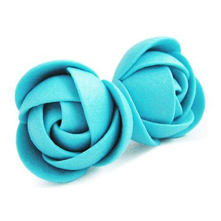 Troli Tirkizni uhani cvetje šopke