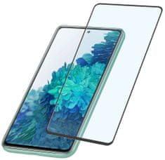 CellularLine zaščitno steklo za Samsung Galaxy S20 FE, črno