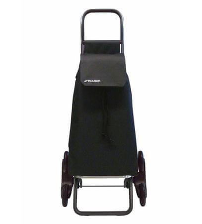 Rolser Saquet LN Rd6 nakupovalna torba s kolesi, črna