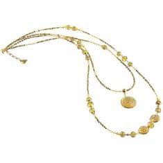 Lampglas Očarujúce náhrdelník Honey Bee s perlami Lampglas NDP3