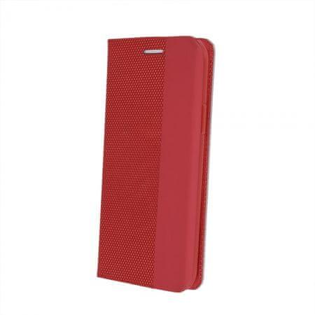 Onasi Moon ovitek za iPhone 12 Pro Max, preklopni, rdeč