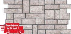 CronaPlast PVC 3D obklad - kameň šedý