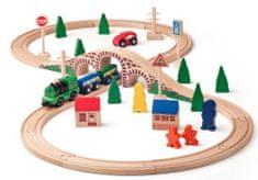 Woody Fajáték vonat készlet