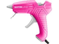 Extol Lady Pistole tavná lepící, Ř11mm, 40W, růžová