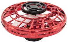 Teddies Visszatérő Ufó, vörös műanyag, kézmozgásra reagáló USB kábellel