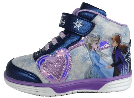 Disney Lány magasszárú tornacipő Frozen D4310103S, 24, sötétkék
