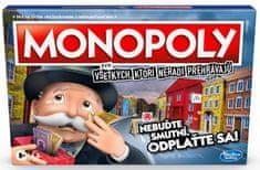 HASBRO Monopoly pre všetkých, ktorí neradi prehrávajú - SK