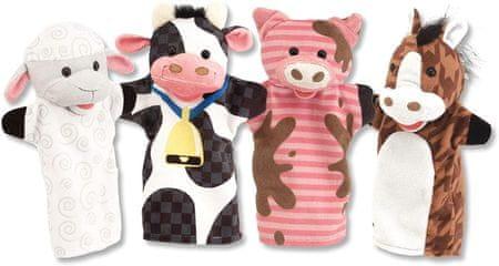Melissa & Doug Ročne lutke - domača kmetija