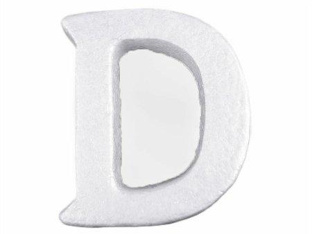 """Kraftika 1db""""d & quot; fehér hungarocell 3d betűk ábécé"""