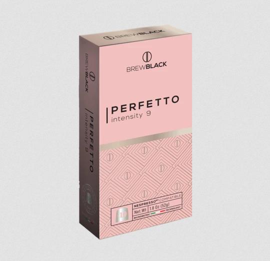 BrewBlack Káva PERFETTO (10 kávové kapsule)