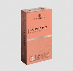 BrewBlack Káva SUPREMO (120 kávové kapsule)