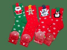 AuraVia Vánoční ponožky Auravia, náhodný výběr 1 pár.