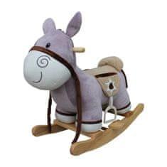 PLAYTO Hojdacia hračka s melódiou PlayTo Donkey Fialová
