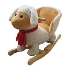 PLAYTO Hojdacia hračka s melódiou PlayTo ovečka Biela