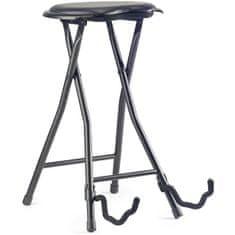 Stagg GIST-300, stolička skladacia s gitarovým stojanom
