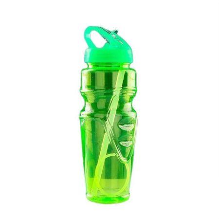 Kraftika Butelka na wodę 650 ml, sportowa, z kubkiem do picia, mix