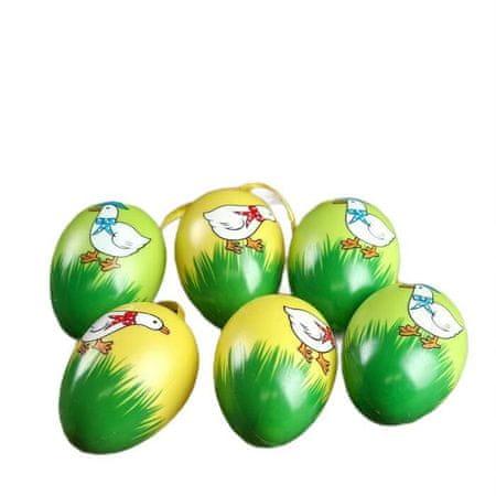 """Kraftika Wielkanoc zawieszenie wystrój """"gęś z łuku,"""" zestaw 6 szt"""