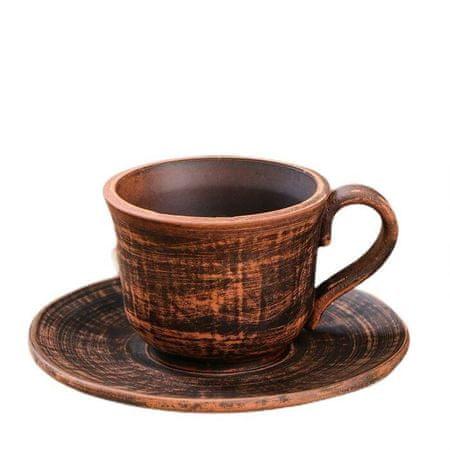 """Kraftika Kávéscsésze csészealj """"sima"""", 0,15 l"""