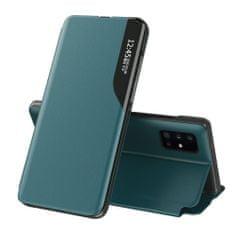 MG Eco Leather View könyv tok Samsung Galaxy S20 Ultra, zöld
