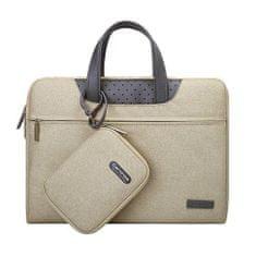 Cartinoe Lamando taška na notebook 13,3'', béžová
