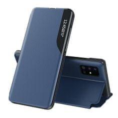 MG Eco Leather View könyv tok Samsung Galaxy S20 Ultra, kék