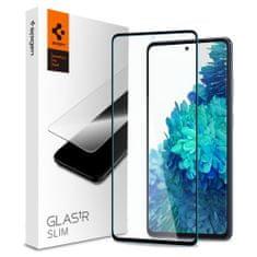 Spigen Glas.Tr Slim Full Cover ochranné sklo na Samsung Galaxy S20 FE, čierne