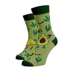 BENAMI Veselé ponožky Avokádo Zelená Bavlna 35-38
