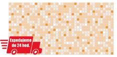 Grace PVC 3D obklad GRACE - Mozaika oranžová
