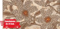 CronaPlast PVC 3D obklad - Kamenne kvety hnedé