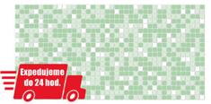 Grace PVC 3D obklad GRACE - Mozaika zelená