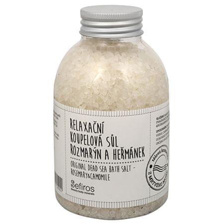 Sefiros Rozmaring és kamilla relaxáló fürdősó(Original Dead Sea Bath Salt) 500 g