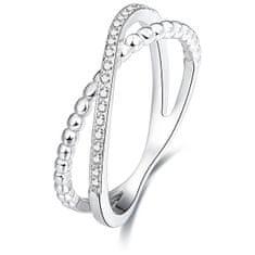 Beneto Ezüstből készült dupla gyűrű AGG145 ezüst 925/1000