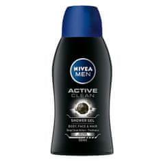 Nivea Tusfürdő férfiaknak Active Clean mini (tusfürdő) 50 ml