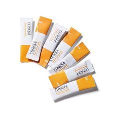 Clinique Ultrafinom mosóport friss C-vitamin (Fresh kõpúder megújítása arctisztító tiszta C-vitamin) 28 x 0,5