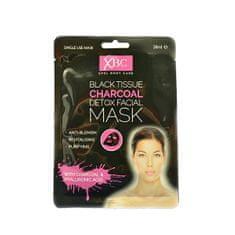 Xpel Pleť maska omrežja z ogljem Charcoal Detox 3D ( Detox Facial Mask) 28 ml