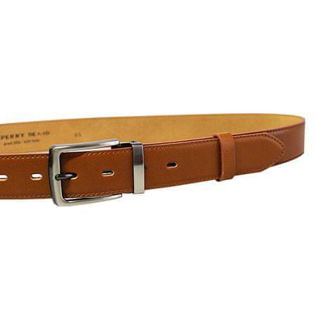 Penny Belts Férfi bőr öv 35-020-2-42 Brown (Öv hossza 100 cm)