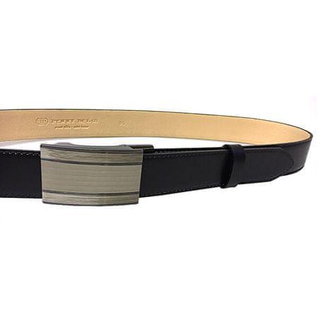 Penny Belts Férfi bőrszíj 35-020-A7 Fekete (Öv hossza 100 cm)
