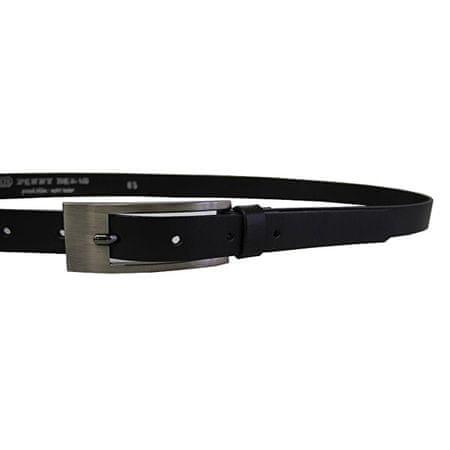 Penny Belts Bőr bőr öv 20-177-63 fekete (Öv hossza 105 cm)