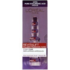 L'ORÉAL PARIS Vyplňující pleťová péče s kyselinou hyaluronovou Revitalift Filler (Hyaluronic Acid) 7 x 1,3 ml