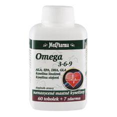 MedPharma Omega 3-6-9 60 tob. + 7 tob. ZDARMA