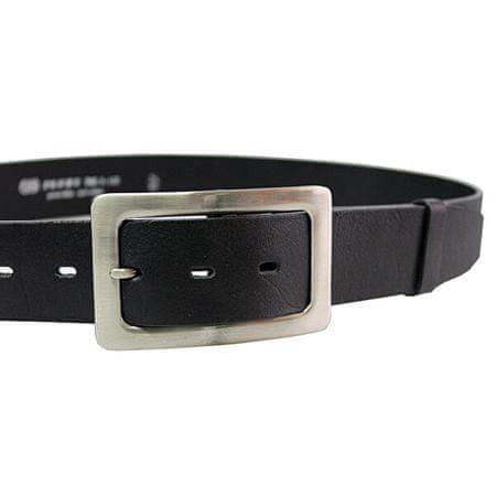 Penny Belts Ženski usnjeni pas 4263 črn (Dolžina traku 110 cm)
