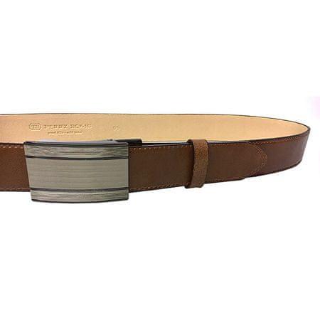 Penny Belts Férfi bőrszíj 35-020-A7 Barna (Öv hossza 100 cm)