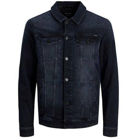 Jack&Jones Moška jakna JJIALVIN JJJACKET AGI 12166867 Blue Denim (Velikost M)