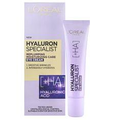 Loreal Paris Vypĺňajúci hydratačný očný krém Hyaluron Specialist 15 ml