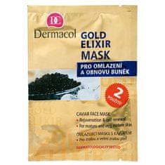 Dermacol ( Gold Elixir Caviar Face Mask) 2 x 8 g