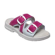 SANTÉ Zdravotná obuv dámska N / 517/55/079/016 / BP ružovo-šedá