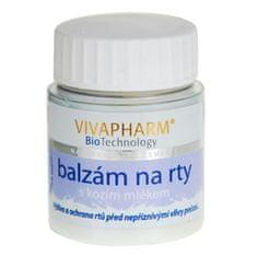 Vivapharm Balzam na pery s kozím mliekom 25 g